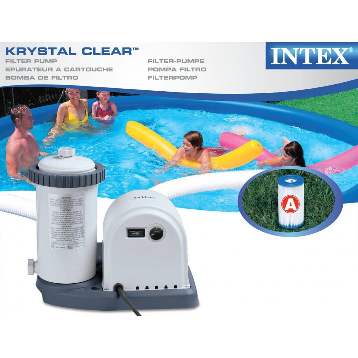 Rotex intex pompa filtro per piscina easy frame for Filtro piscina intex