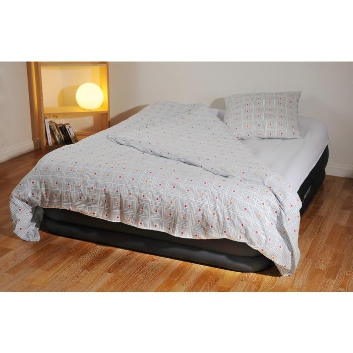 Rotex intex 67738 queen letto materasso gonfiabile matrimoniale airbed con pompa ebay - Letto matrimoniale con materasso ...