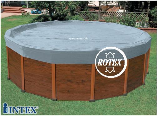 Rotex intex copri piscina copripiscina sequoia copertura telo 11491 dia cm 478 ebay - Telo copertura piscina intex ...