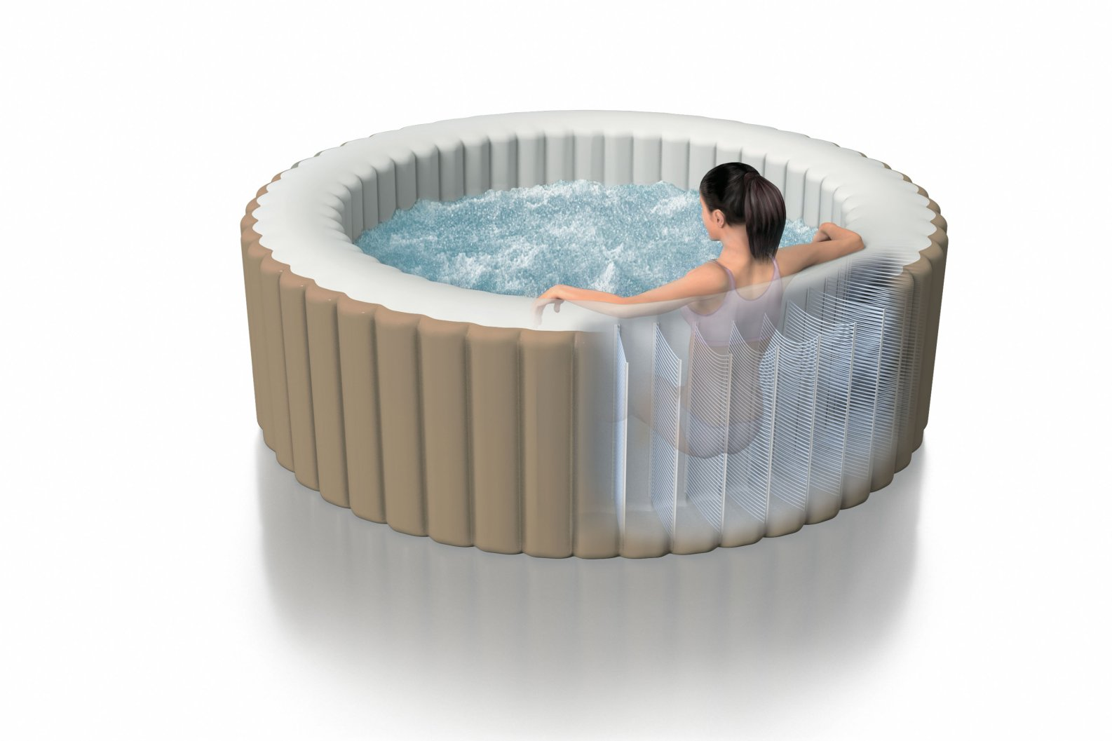 rotex intex pure bubble spa idromassaggio piscina fuori. Black Bedroom Furniture Sets. Home Design Ideas