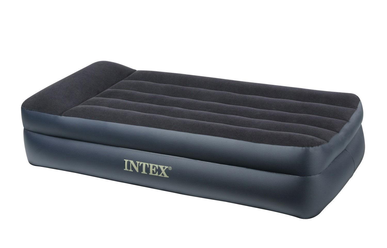 rotex- intex 66706 materasso singolo letto gonfiabile con pompa ... - Materasso Gonfiabile Con Pompa
