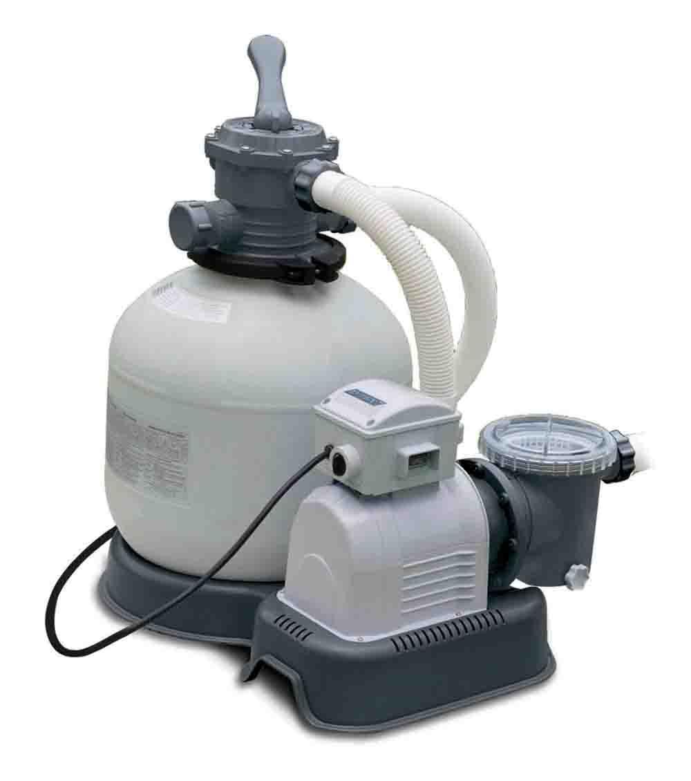Rotex intex pompa filtro a sabbia 10000 lt h per piscine for Pompa per piscina