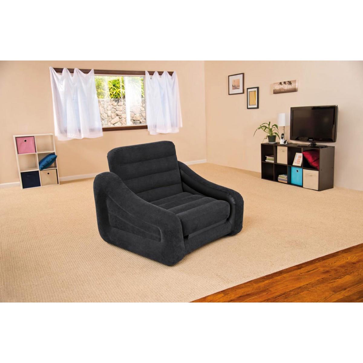 Sofa bed materasso intex gonfiabile divano poltrona 68565 ...