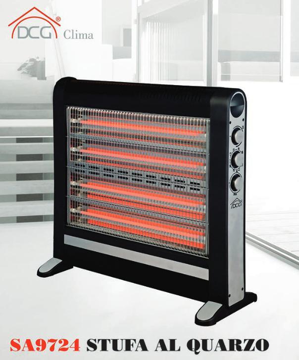 Stufa al quarzo stufa elettrica stufetta alogena riscaldamento caldobagno stufe elettriche a - Stufa elettrica al quarzo ...