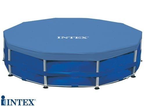 Rotex intex 58406 telo copertura copri piscina 28030 rotonda cm 305 bestway ebay - Telo copri piscina ...