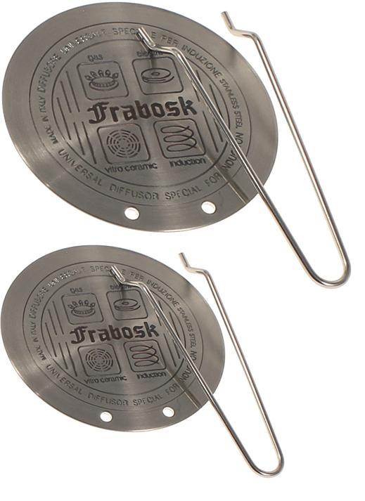 rotex set 2 piastre piastra disco induzione diffusore per pentole 145 e 225 cm