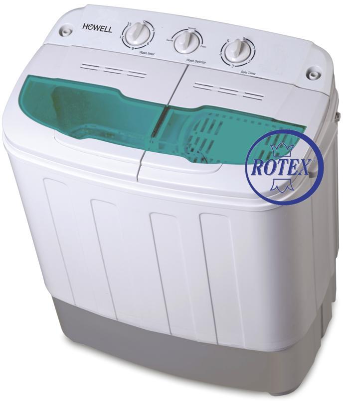 Rotex howell lp 436 mini lavatrice 3 5 kg con centrifuga for Lavatrice 3 kg