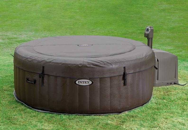 Piscina gonfiabile idromassaggio fuori terra pure spa for Piscine portable intex