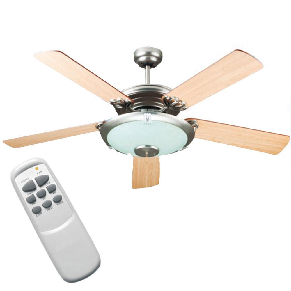 Ventilatore soffitto senza luce: ventilatore da soffitto con ...